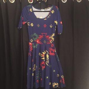 Lularoe Nicole Dress - Small
